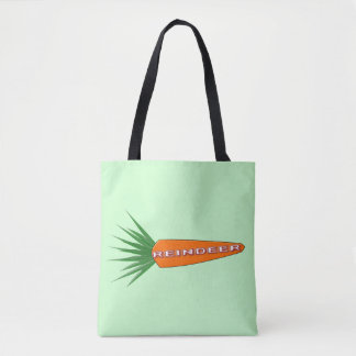 A Carrot for Christmas Reindeer Tote Bag