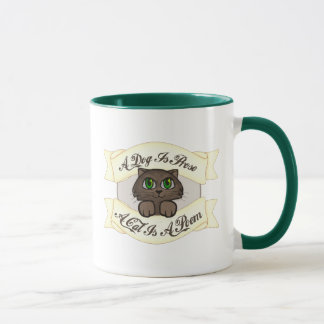 A Cat is A Poem Mug