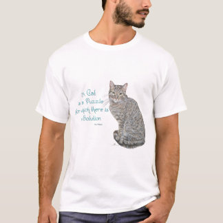 A Cat is a Puzzle T-Shirt
