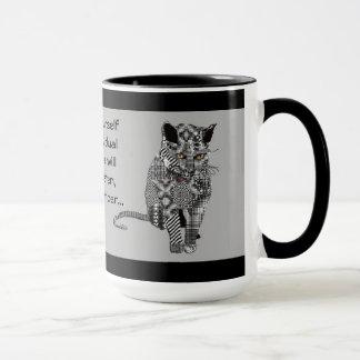 A Cat of Individual Expression Mug