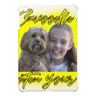 A Cavoodle will Brighten your Day. iPad Mini Cover