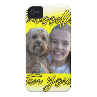 A Cavoodle will Brighten your Day. iPhone 4 Cover
