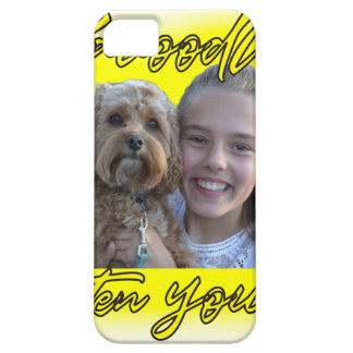 A Cavoodle will Brighten your Day. iPhone 5 Cases