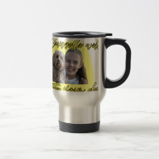 A Cavoodle will Brighten your Day. Travel Mug