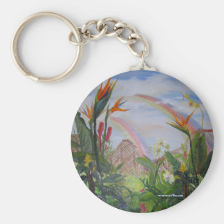 A Celebration of Life Basic Round Button Key Ring