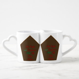 A celebration of LOVE Coffee Mug Set