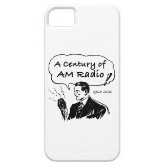 A Century of AM Radio iPhone 5 Case