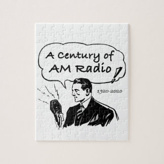 A Century of AM Radio Jigsaw Puzzle