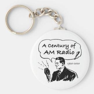 A Century of AM Radio Key Ring