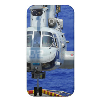 A CH-46E Sea Knight helicopter iPhone 4/4S Cases