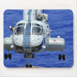 A CH-46E Sea Knight helicopter Mousepad