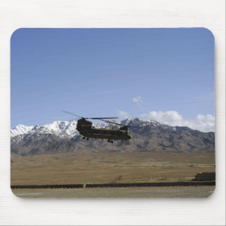 A CH-47 Chinook takes off Mouse Pad