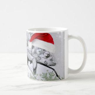 A Chameleon Christmas Wraparound Coffee Mug