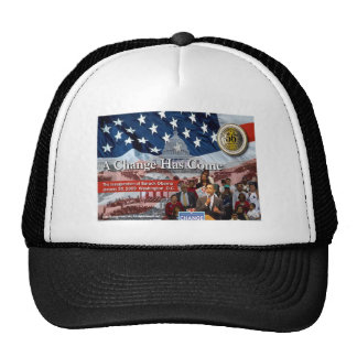 A Change Has Come - The 2009 Obama Inaugural Hats