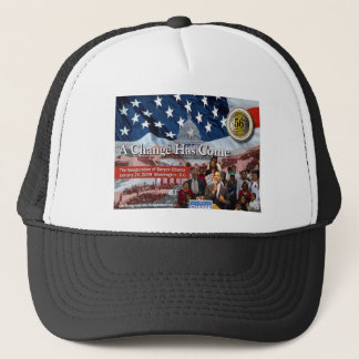 A Change Has Come - The 2009 Obama Inaugural Trucker Hat