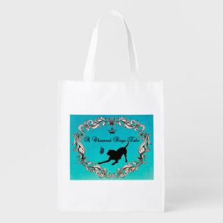 A Charmed Dogs Tale Reusable Grocery Bag