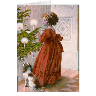 A charming Victorian Christmas card
