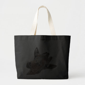 A cheeky Giraffe with attitude Jumbo Tote Bag