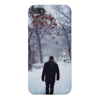 A Chilly Path In Central Park iPhone 5 Case