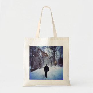 A Chilly Path In Central Park Tote Bag