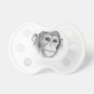 A Chimpanzee, Not Monkeying Around Sketch Dummy