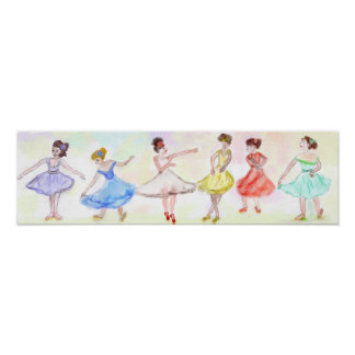 A Chorus Line-In Ballet Poster