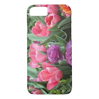 A Chorus of Pink Tulips iPhone 7 Phone Case