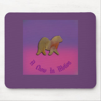 A  Chow In Motion  Mousepad