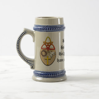A Christian coat of arms Beer Steins