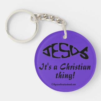 A Christian Thing Acrylic Key Chains