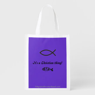 A Christian Thing Market Totes