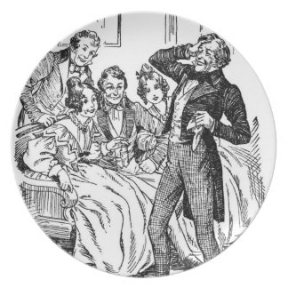 A Christmas Carol: A Fresh Roar Of Laughter Plate