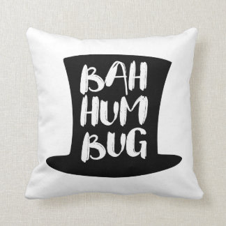 A Christmas Carol Bah Humbug Holiday Throw Pillow