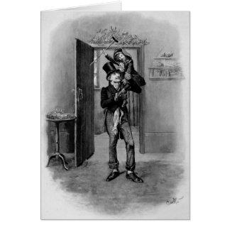 A Christmas Carol Christmas Card, Tiny Tim
