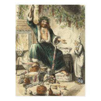 A Christmas Carol: Scrooge's Third Visitor Postcard