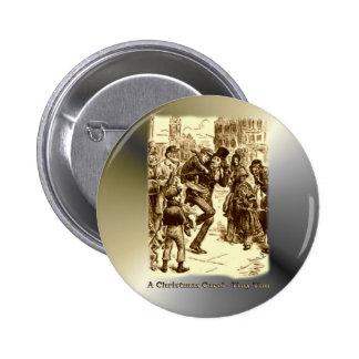 A Christmas Carol - Tiny Tim 6 Cm Round Badge