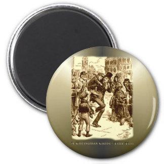 A Christmas Carol - Tiny Tim 6 Cm Round Magnet