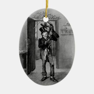 A Christmas Carol: Tiny Tim Ceramic Oval Decoration