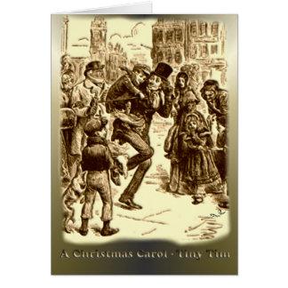 A Christmas Carol - Tiny Tim Greeting Card