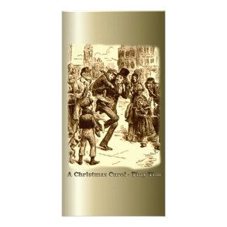 A Christmas Carol - Tiny Tim Customized Photo Card