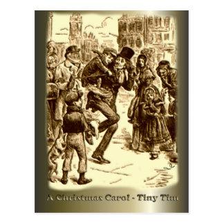 A Christmas Carol - Tiny Tim Post Cards