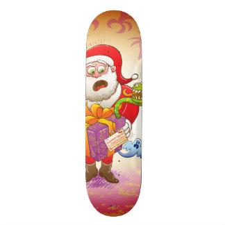 A Christmas Gift from Halloween Creepies to Santa 21.6 Cm Skateboard Deck