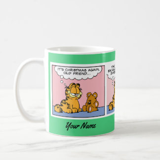 """A Christmas Gift"" Garfield Comic Strip Mug"