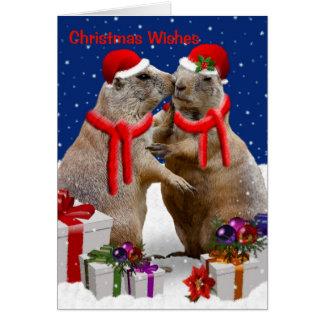 A Christmas Kiss Card