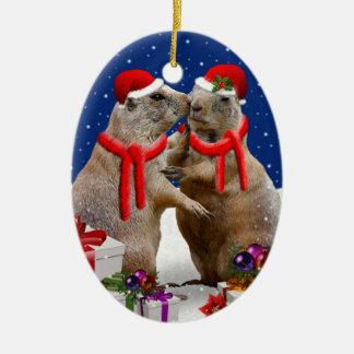 A Christmas Kiss Ornament