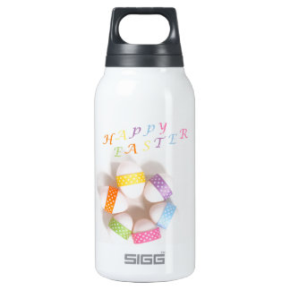 A Circle of Decorated Easter Eggs 0.3L Insulated SIGG Thermos Water Bottle