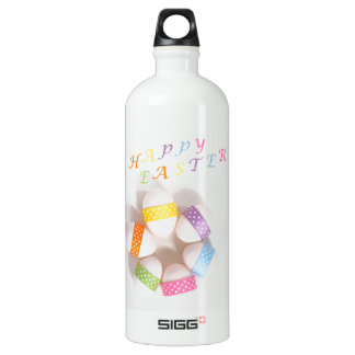 A Circle of Decorated Easter Eggs SIGG Traveller 1.0L Water Bottle