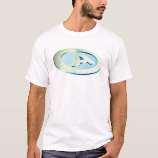 'A' circle T-Shirt