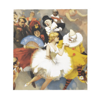 A Circus of Dancers Notepad