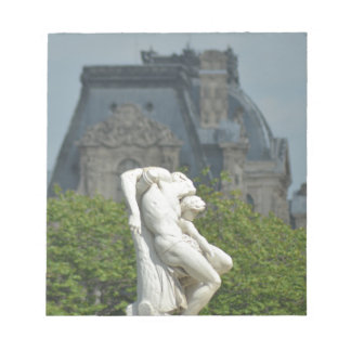 A classical marble statue in Paris Notepad